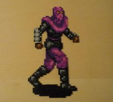 Foot Soldier TMNT Bead Sprite by monochrome-GS