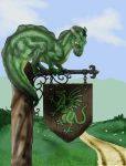 The Green Dragon by darkwolfhowling