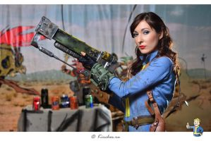 Fallout 3 cosplay by atomic-cocktail