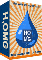 H2OMG Tuck Box Design Front by psturgeon