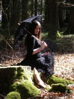 Gothic Lolita shooting 3 by snow-white-Alice