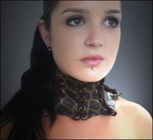 Leather Komodo Collar by Trinitynavar