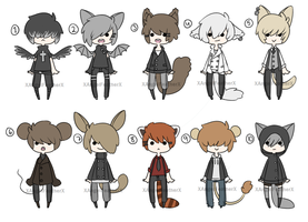 Boy Adoptables [CLOSED] by XAngelFeatherX