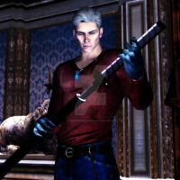 [DmC] Vergil and Yamato by Mike92evil92
