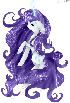 Collab- Rarity by BladeDeeHunter