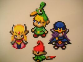 Zelda: Minish Cap Perlers by RetroNinNin