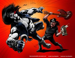 TLIID 273. Lemmy and Lobo by AxelMedellin