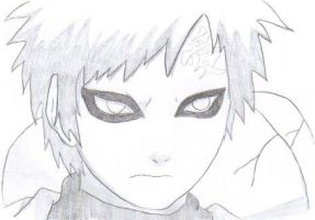 Gaara by wintersreveille
