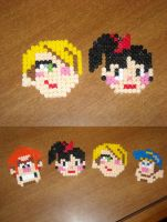 WIR: 8-bit Ladies and The Gang by Zim-Shady