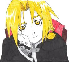 Edward Elric by Beyond-Bloody