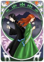 HP-Lily For Ever by AgiVega by HogwartsArt