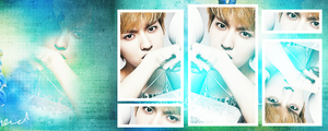 FB COVER : Exo M Kris by chazzief
