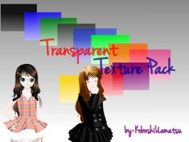 Transparent Texture Pack+EDIT 2012 by KoboshiUematsu