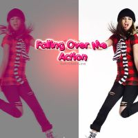 Falling Over Me Action by OhMyCrazyLove