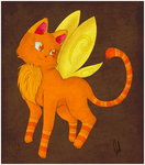 Gary the flying butterfly cat by Alex-NFS by SEMC