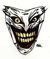 Joker's mask by RiaSal