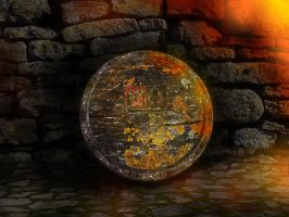 Mossy old shield ambient by AlanusRex