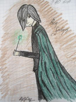 Prof.Snape by OnlyJul