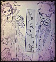 Mr.Sandman and Dr.Benzedrine by ameco07