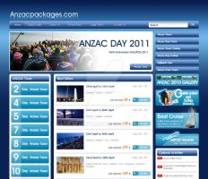 Anzac Packages Web Desing by AjansTR