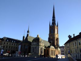Stockholm church by dani221
