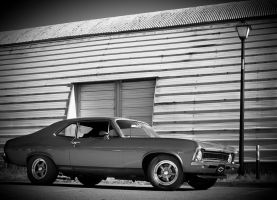 Chevy Nova Black And White by Paradise-Road