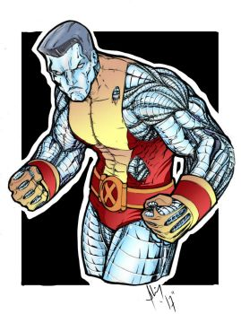 Colossus (pencils By Adam Withers ) by Fantom17