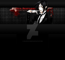 Custom Sebastian YT Layout by CeliaPhantomhive