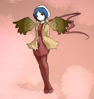 The Angel Keen by deLunela
