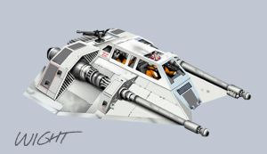 snowspeeder by joewight