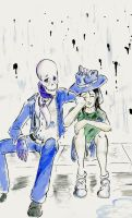Skulduggery Pleasant: Bad Day by Nerdlyish