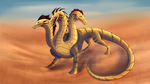 [Commission] The warm sands by Noxsha