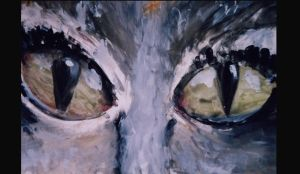 Pussycat eyes by Willowsmummy