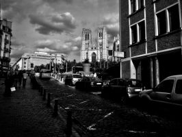 In the City of Brussels... by AmarIbra