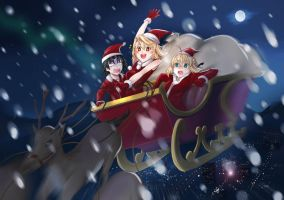 Merry X'mas Type moon style by ibenz009
