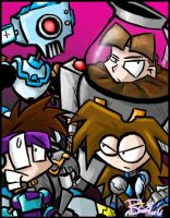 Robot Masters - The New Batch by evilchibiminion
