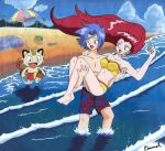 Team Rocket at the Beach by Chamel413