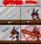 (Shark week) Undivided Bitez: Raw Chicken by Snowfyre