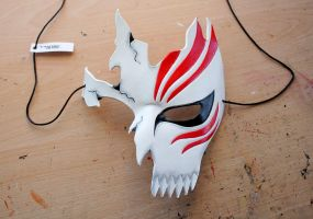 Ichigo Hollow leather mask by Masktastic