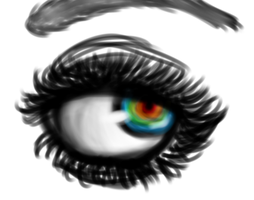 Rainbow Eye by Gaylordie