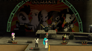 The Decadence concert project begins by Glaber