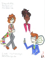 So I just drew Doctor Who by Revolution-Nein