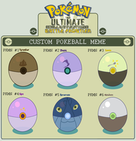UBF Custom Pokeball Meme by Inkblot-Rabbit