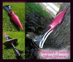Oswald Sword -- Odin Sphere by meanlilkitty