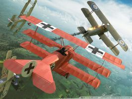 RED BARON by Oxygino