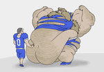 Football Player Growth by fattyfatman