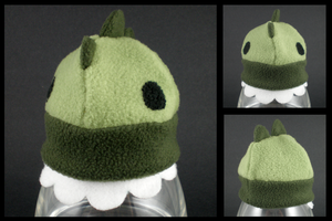 Fleece baby hat - Dinosaur by eitanya