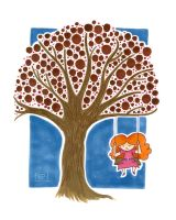 Tree Swing by crazycat13design