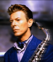 David Bowie with Sax by g212