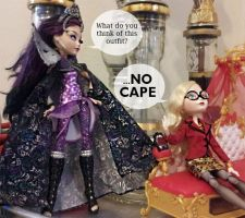NO CAPE by mistakenolive